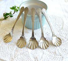 Vintage desert spoons  ♥   granny hannas cottage