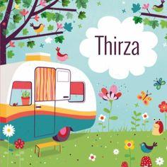 Geboortekaartje Thirza - Lief, leuk & eigen - collectie Zwiep
