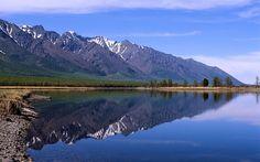 Lake Baikal view from Sayan Mt