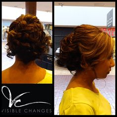 Mariana created this wedding updo that will make your heart skip a beat. What do you think? Wedding Updo, Updos, Salons, Stylists, Dreadlocks, Change, Heart, Hair Styles, Makeup