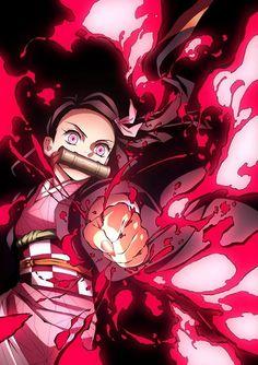Demon Slayer Kimetsu No Yaiba Manga Anime, Fanarts Anime, Anime Demon, Otaku Anime, Anime Characters, Kawaii Anime Girl, Anime Art Girl, Arte Emo, Anime Screenshots
