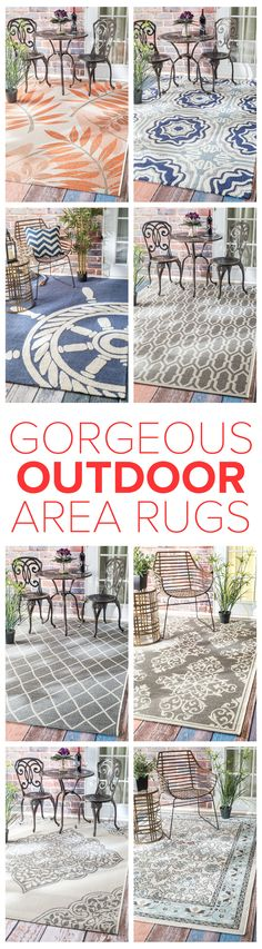 Outdoor Rugs Are Durable, Colorful, And Fitting For Any Spaces Inside And  Out!