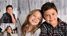 children, little boy, little girl,, siblings, dress, plaid, christmas, holiday, winter, brother, sister, photos, photography