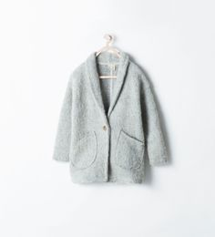 Image 1 of BUTTONED THREE-QUARTER LENGTH JACKET from Zara