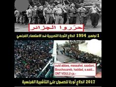 Algérie, 1er Novembre 1954, La Révolution, 1er Novembre 2017: France, sa...