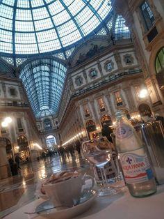 Colazione in Galleria con Bordac Sig Valenge #milanodavedere Milano da Vedere