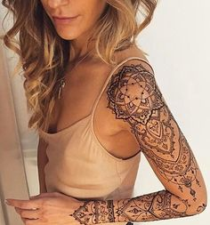 #tattoos #sleeve #mandala by tattooinkspo