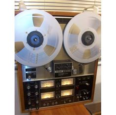 """Teac - A3340s ,Vintage High End Recording Reel-To-Reel 4-Track Deck"" !  http://about.me/Samissomar"