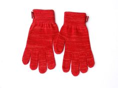 Stylish Red TTgloves - The Touchscreen Gloves