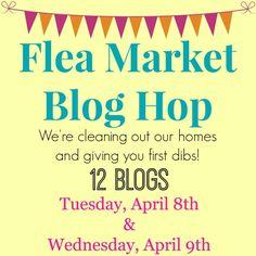 Flea Market Blog Hop - We're cleaning out our closets!