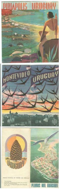 uruguay montevideo piriapolis playas del uruguay #vintage #travel brochures 1974 from $28.0