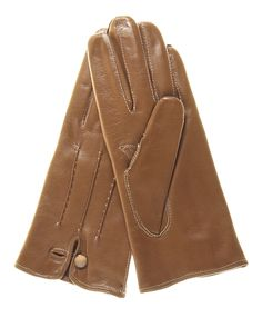 Women's Italian Cashmere Lined Leather Dress Gloves .. Look how preeeeeeetty!