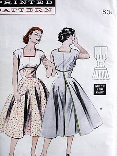 Need Some Sewing Patterns? Clone Your Clothes - Sewing Method 1950s Dress Patterns, Dress Making Patterns, Vintage Sewing Patterns, Clothing Patterns, 1960s Dresses, Vintage 1950s Dresses, Vintage Outfits, Fashion Sewing, Retro Fashion