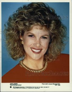 "team joan lunden | Details about 1990 Press Photo Joan Lunden, reporter on ""Good Morning ..."