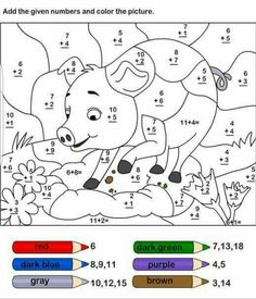 Math colouring