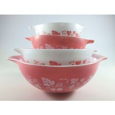 I wasnt going to collect pink, only want pink gooseberry because I have a small casserole dish also mother in laws.