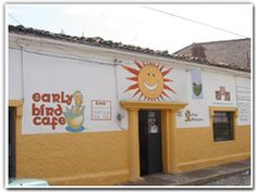 Early Bird Cafe - Ocampo #30 (376) 766-5063  Hours: Tues-Sat 8am-3pm...Sun 8:30am -1pm  Breakfast and Lunch; burgers and veggie wraps