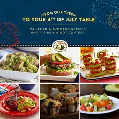 4th of july potluck foods