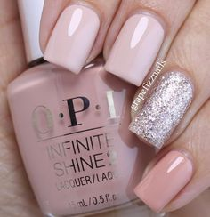 All @opi_products Infinite Shine No Strings Attached and Hurry Up and Wait and Ce-less-tial is More