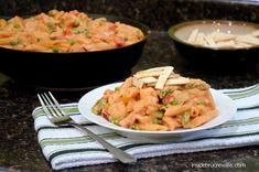 Chipotle Chicken Pasta - copycat Cheesecake Factory pasta dish #chicken #dinner http://www.insidebrucrewlife.com