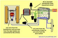 doorbell wiring plan doorbell wiring diagram wires