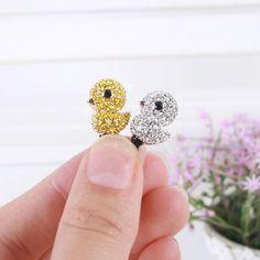 Baby Duck Dust Plug, would be cute hair pins