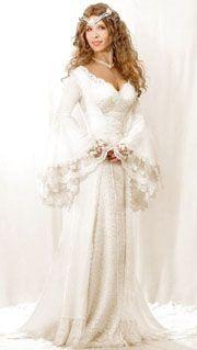 Medieval Weddingideas   Faery Wedding Dress