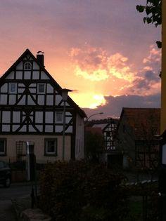 Sunset im Vogelsberg