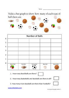 graph worksheets first grade | 1st Grade Bar Graph Worksheet http ...