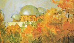 Goetheanum - Aquarell von Hermann Linde - Goetheanum – Wikipedia