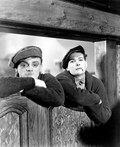 James Cagney and Edward Woods, The Public Enemy.