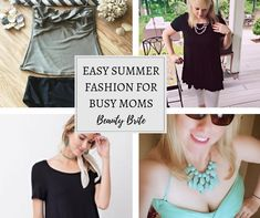 Easy Summer Fashions for Busy Moms Seafoam Color, Bandeau Tankini, Summer Fashions, High Waisted Bikini Bottoms, How To Feel Beautiful, Mom Style, Pin Up Girls, Warm Weather, Stylish Outfits