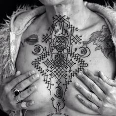 Amazingly intricate cover tattoo Featured Tattoo Artist | Jean-Philippe Burton