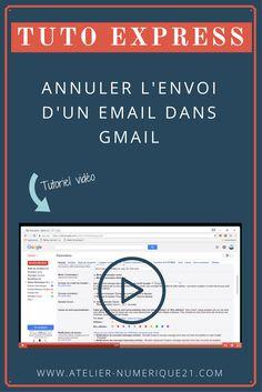 Annuler l'Envoi d'un E-mail dans Gmail   Gmail   Tutoriel Vidéo   Informatique Ordinateur