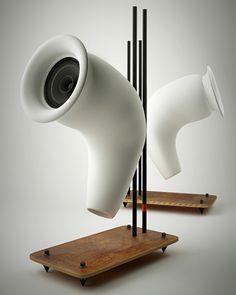 Speakers Made From Recycled Paper  Designer: Andrej Čverha