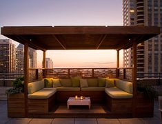 ROOFTOP GARDENS | Shade Cabanas in the Sky | Chicago Specialty Gardens