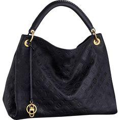 Louis Vuitton ARTSY MM Infinie Black Monogram