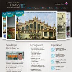 "Laurent ANTOINE ""LeMog"" - World Expo Consultant: LeMog 3D - Nouveau Site - New Website - New HomePa..."