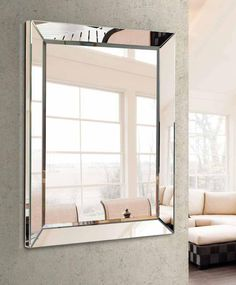 Girls Bedroom, Bedroom Decor, Diy Mirror, French Decor, Decoration, Oversized Mirror, Sweet Home, Living Room, Glass