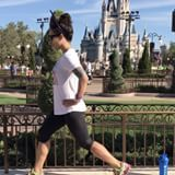 Getting my quickie done at the Magic Kingdom this morning while the park is still empty. Beautiful scenery for a workout right?  I packed a few single serving packets of protein powder with me so I could easily throw them in my backpack and shake it up!  Most of you know my go to protein powder brand is @mrm_usa because they're natural and safe for breastfeeding and pregnant mommies, but did I tell you that you can try their product for FREE? Yup. They give out sample packs and all you've…