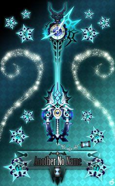 Keyblade Another No Name by Marduk-Kurios
