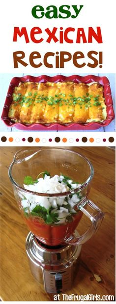 BIG List of Easy Mexican Recipes! - The Frugal Girls