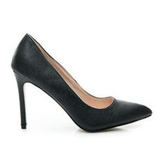 Elegant women's high heels Manufacturer: SERGIO Tojo Product code: RMD1312B / S3-70P Color: Black Kind of heel: needle Tip: full Material: eco leather Type of closure: slip Season: Spring / Summer Warmth: missing Heel: 11 cm Opportunity: festive, evening / party Style: elegant, classic, fashion Entry: eco leather Footer: paved, soft Sole: smooth, plastic http://cosmopolitus.eu/product-eng-43084-Elegant-womens-high-heels.html #highheel #sandals #heels #fashion #womens #cheap #hig
