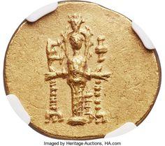 Ancients:Greek, Ancients: IONIA. Ephesus. Ca. 133-88 BC. AV stater (20mm, 8.43 gm,12h). NGC MS 5/5 - 3/5....