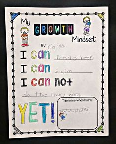 Growth Mindset lesso