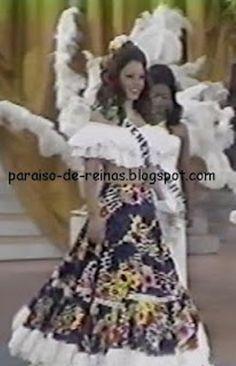 Traje de Llanera - María Antonieta Campoli para el Miss Universe...
