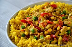 Risotto, Gluten Free Recipes, Healthy Recipes, Healthy Foods, Curry, Yummy Food, Tasty, Lunches And Dinners, Fried Rice