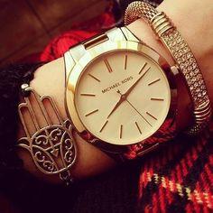 Relógio Michael Kors MK3179  R$ 1.239,00 ou 12x de R$ 103,25 s/juros  http://sunclockusa.com.br/relogios-michael-kors/2659-relogio-michael-kors-mk3179-dourado-feminino.html