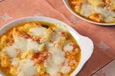 Gnocchi alla sorrentina (Potato Gnocchi with Tomato Sauce and Mozzarella) | Memorie di Angelina