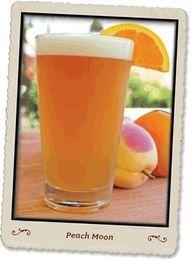 PeachMoon - blue moon, peach schnapps, and OJ. perfect summer drink!